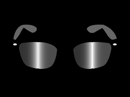 Óculos de sol é um ótimo acessório para proteger os olhos de raios solares. Arte: Roberto Lima/ SPTuris.