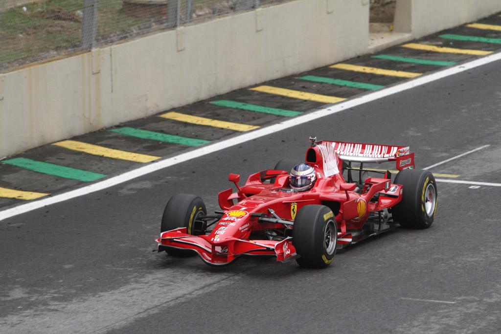 Ferrari da Fórmula 1 em evento da marca. Foto: José Cordeiro/ SPTuris.