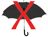 A entrada de guarda-chuva, normalmente, é proibida nos eventos do Autódromo. Arte: Roberto Lima/ SPTuris.