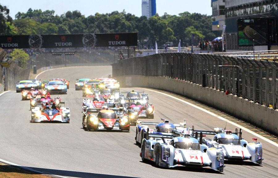 Largada da Le Mans 6 Horas de São Paulo 2013. Foto: José Cordeiro/ SPTuris.
