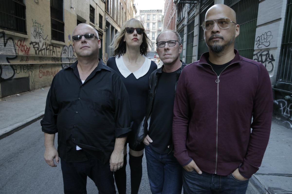 Grupo de rock norte-americano Pixies. Foto: Divulgação.